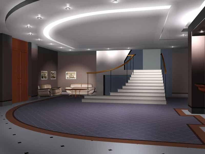 Дизайн проект общественных помещений