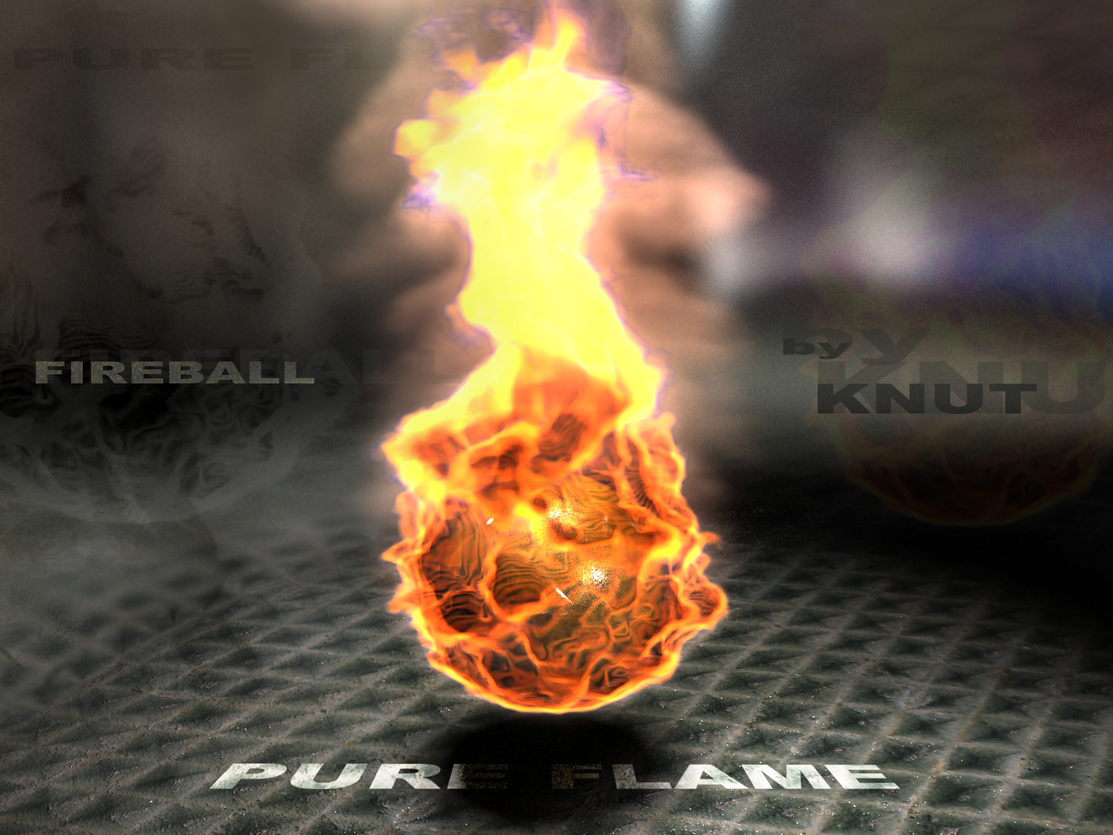 Огненные шарики своими руками фото