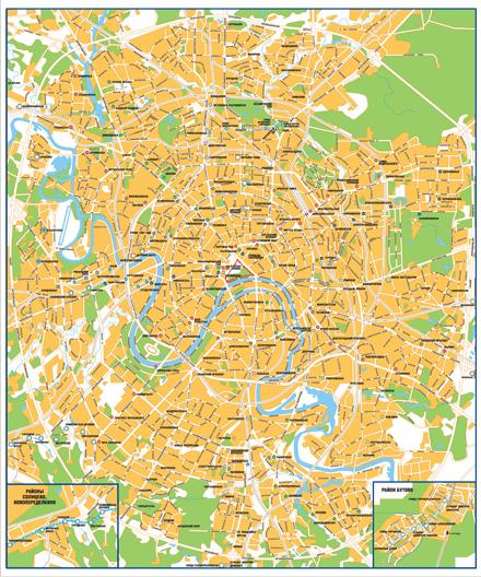 Карта-схема метрополитена само