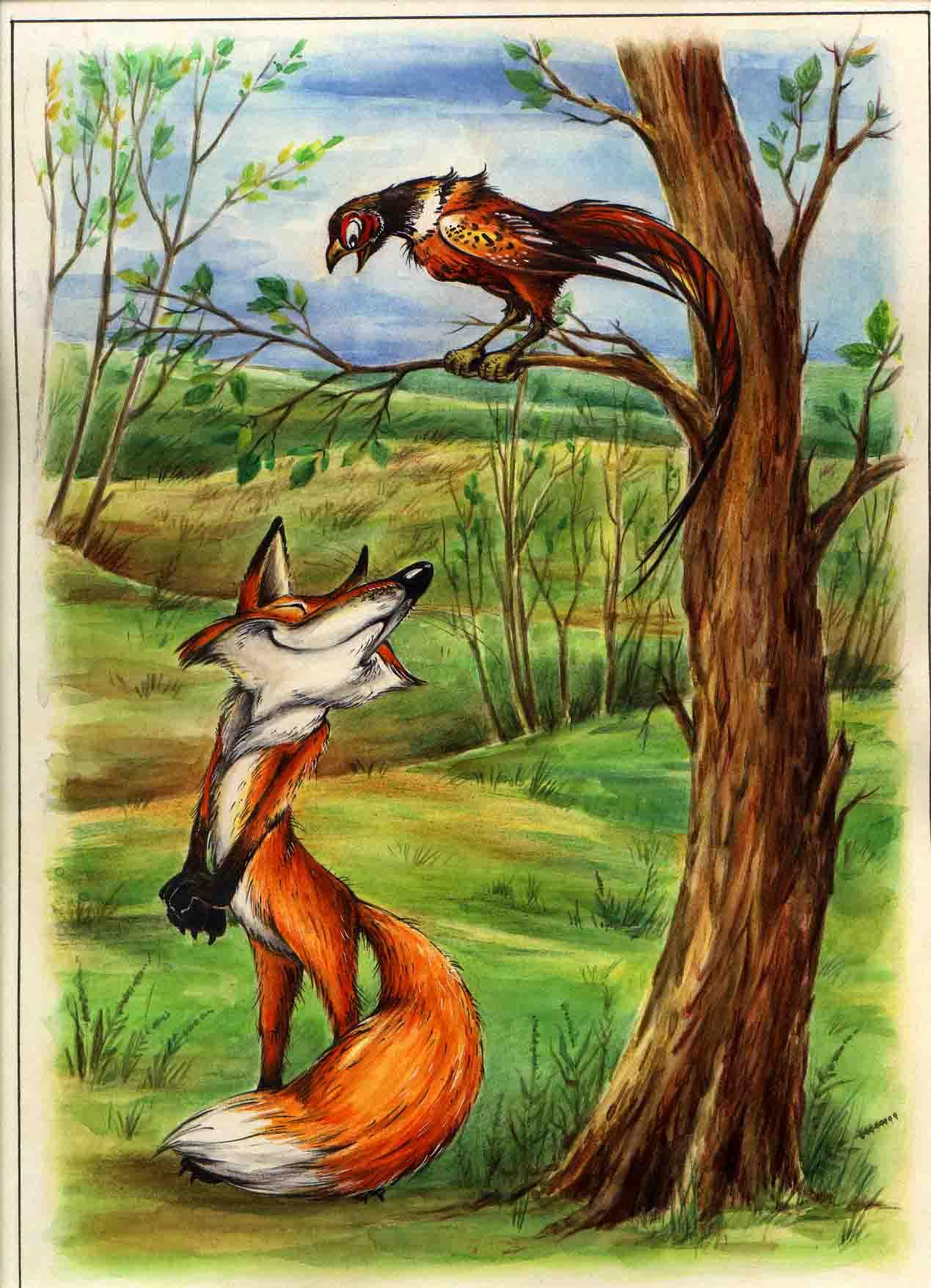 К книге сказки о животных 2001