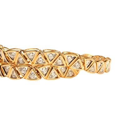 браслеты золотые женские.