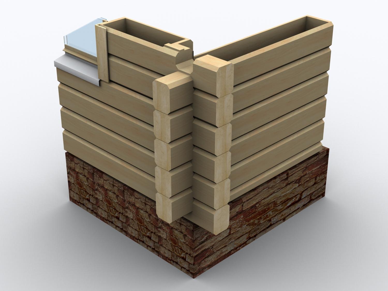 Технология деревянные дома фото
