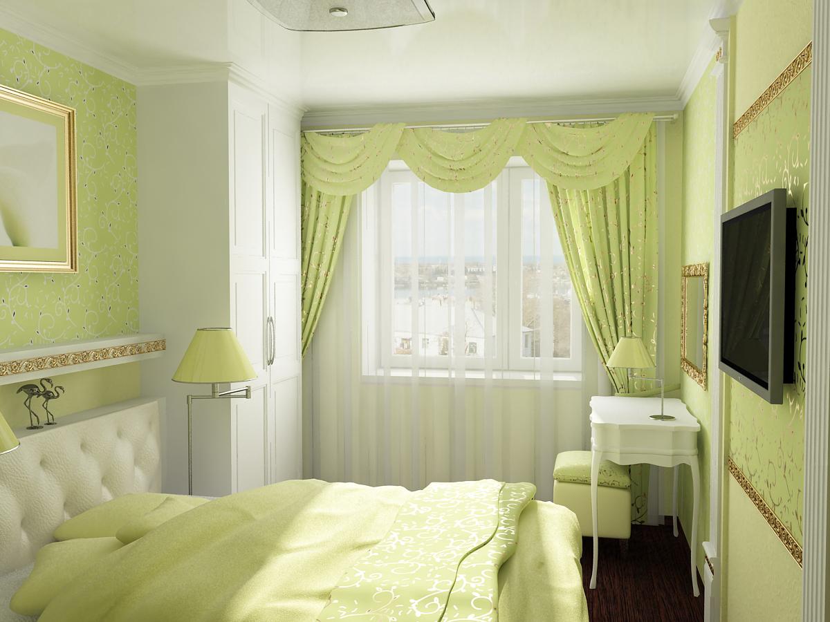 в какой цвет покрасить спальню.