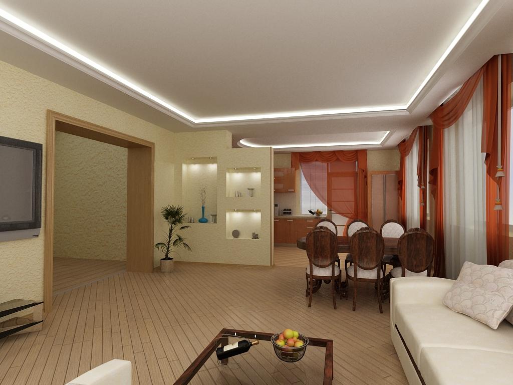 Поради по дизайну кімнат квартири: спальні, вітальні.