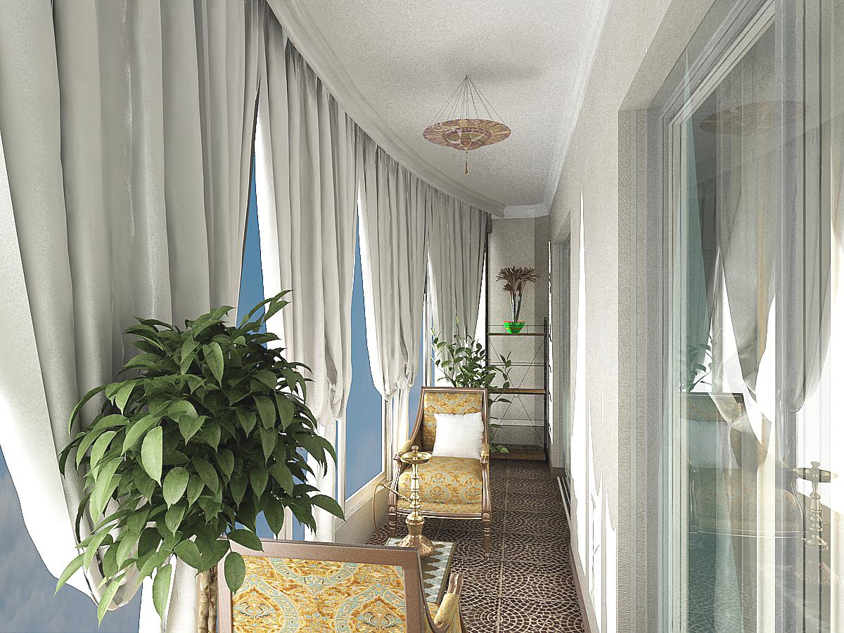 Балкон 8 кв м дизайн