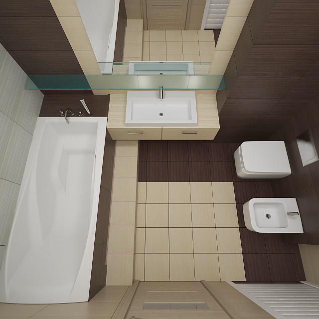 Ванная комната в однушке дизайн