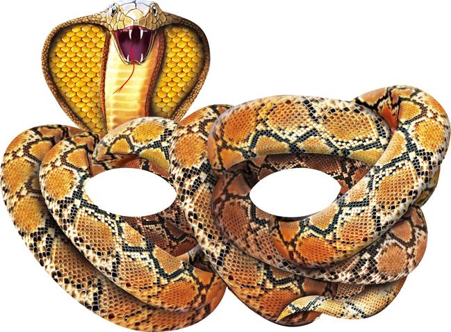 Как сделать из бумаги голову змеи