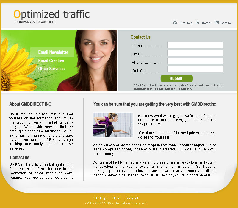 Optimized Traffic
