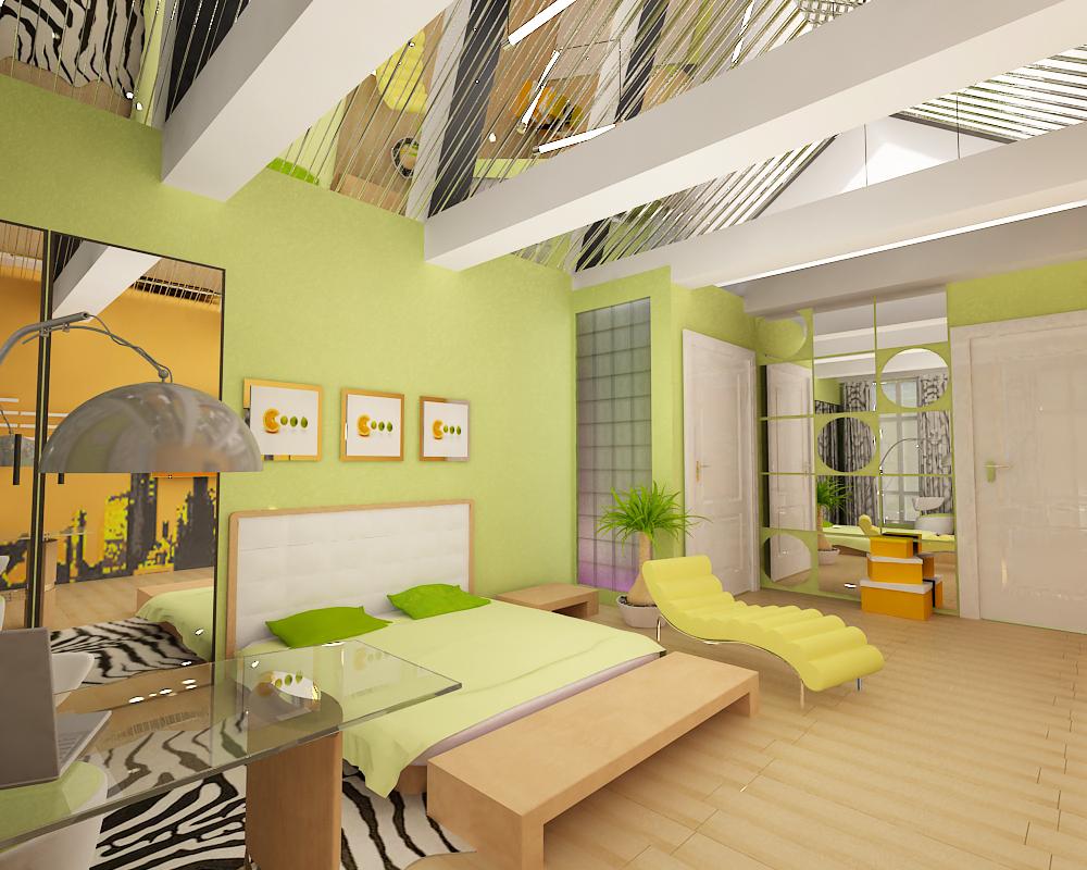 Спальня на мансардном этаже дизайн