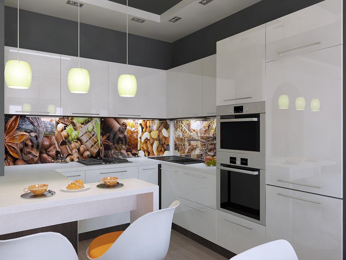 Дизайн гостиной кухни в частном доме фото