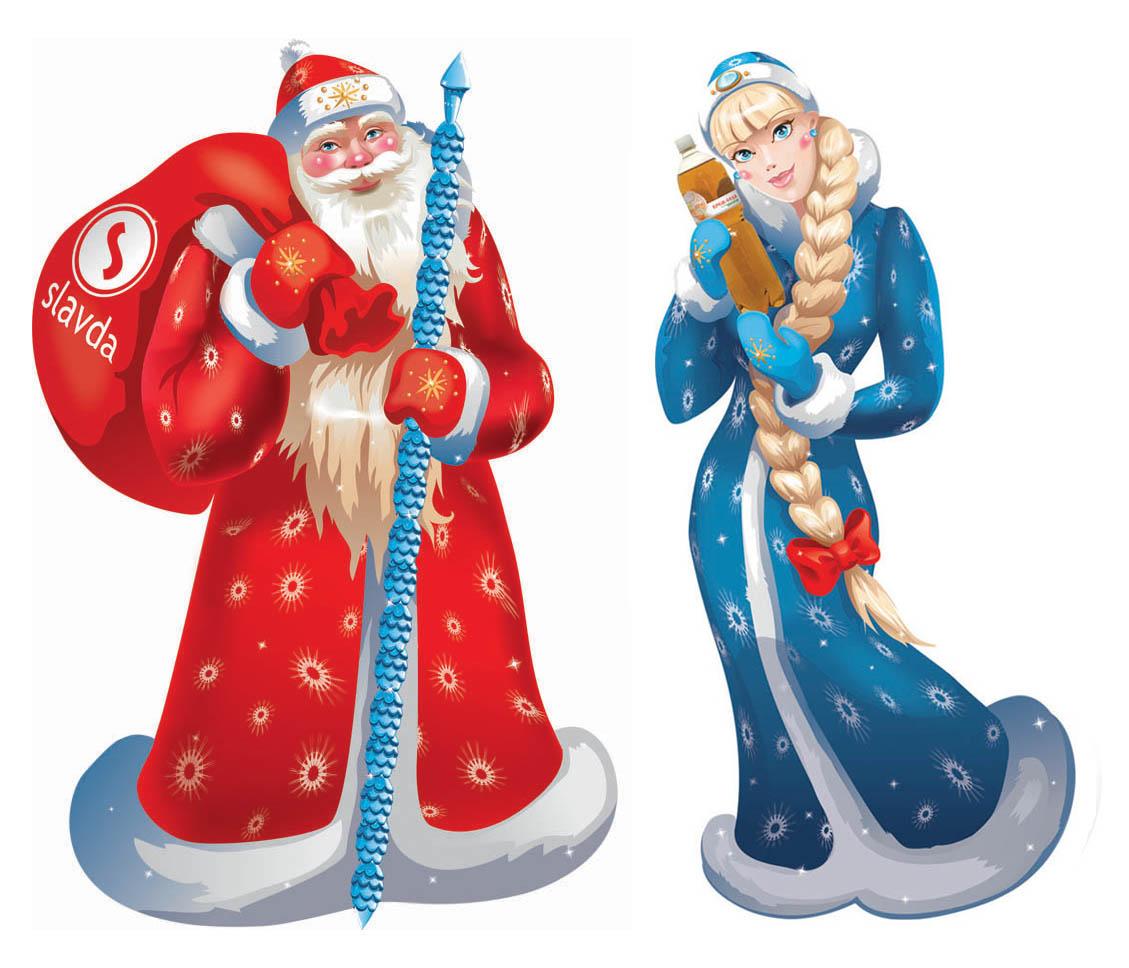 Дед Мороз со Снегурочкой посетили все школы и детские.