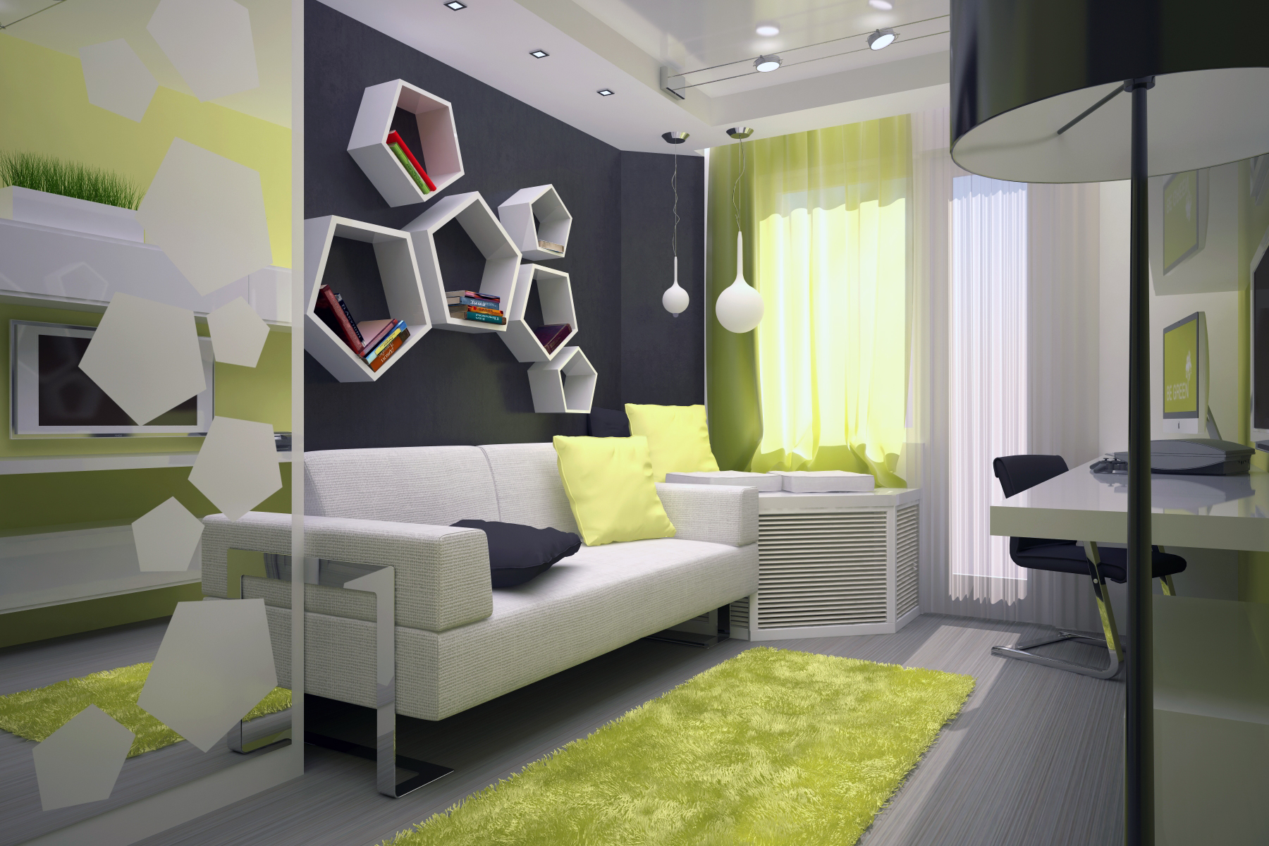 Дизайн детской комнаты 15 метров