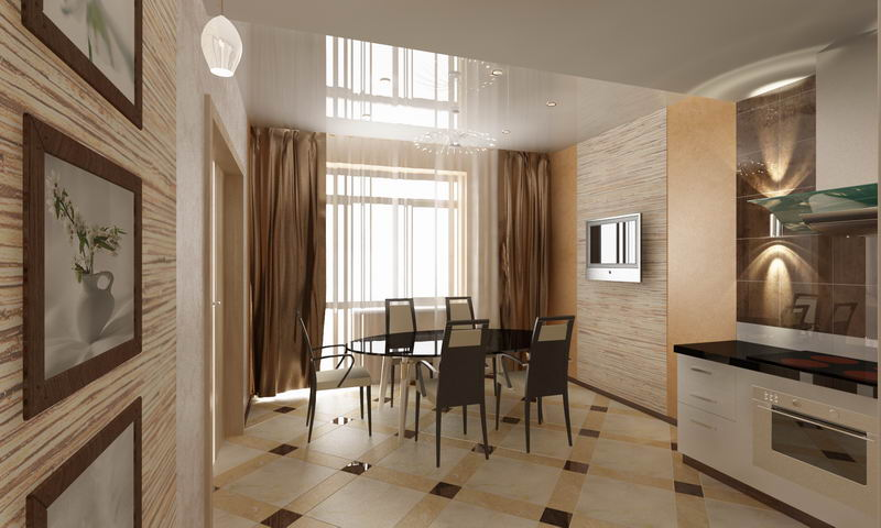 мебель для кухни арт деко (ар деко.