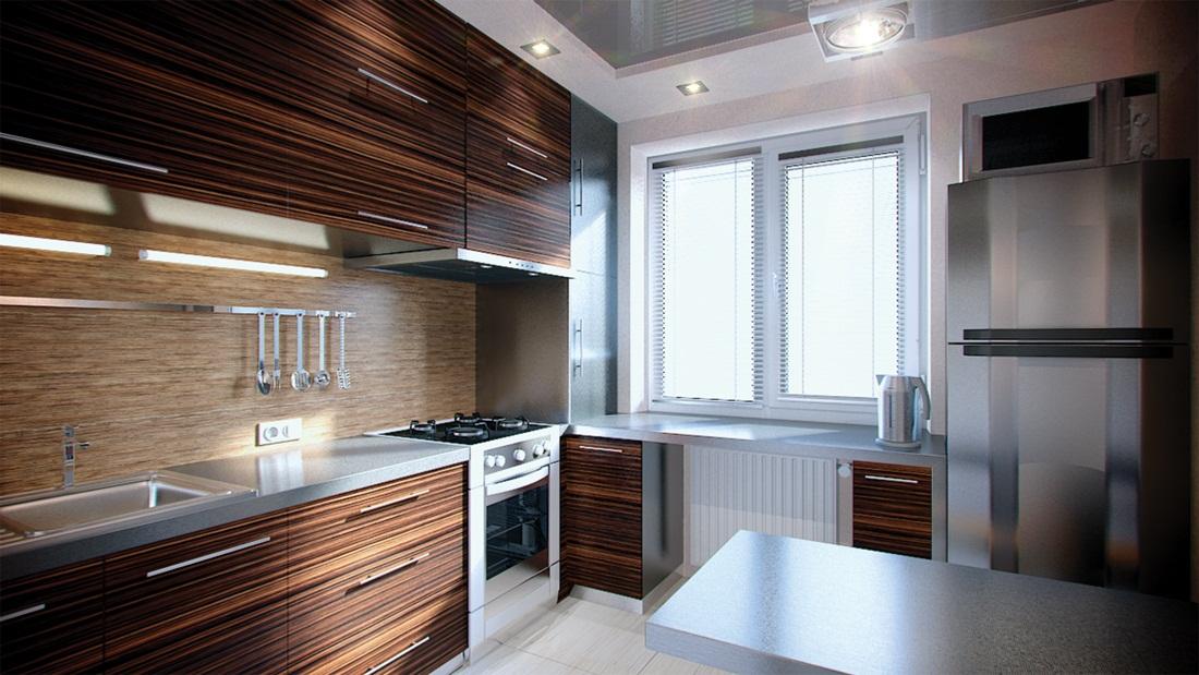 Кухня 2 5 дизайн
