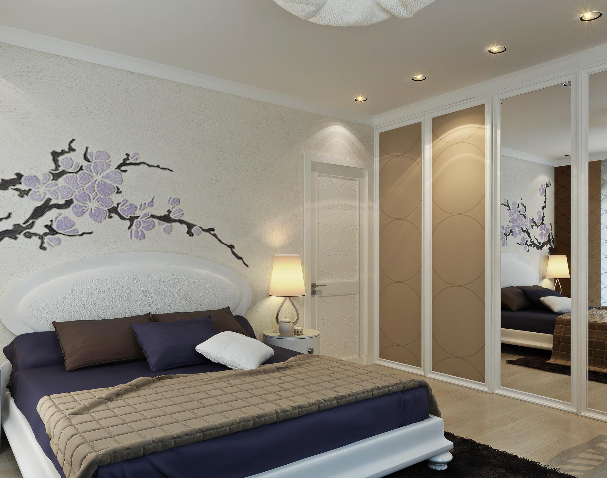 Дизайны спален в обычной квартире фото