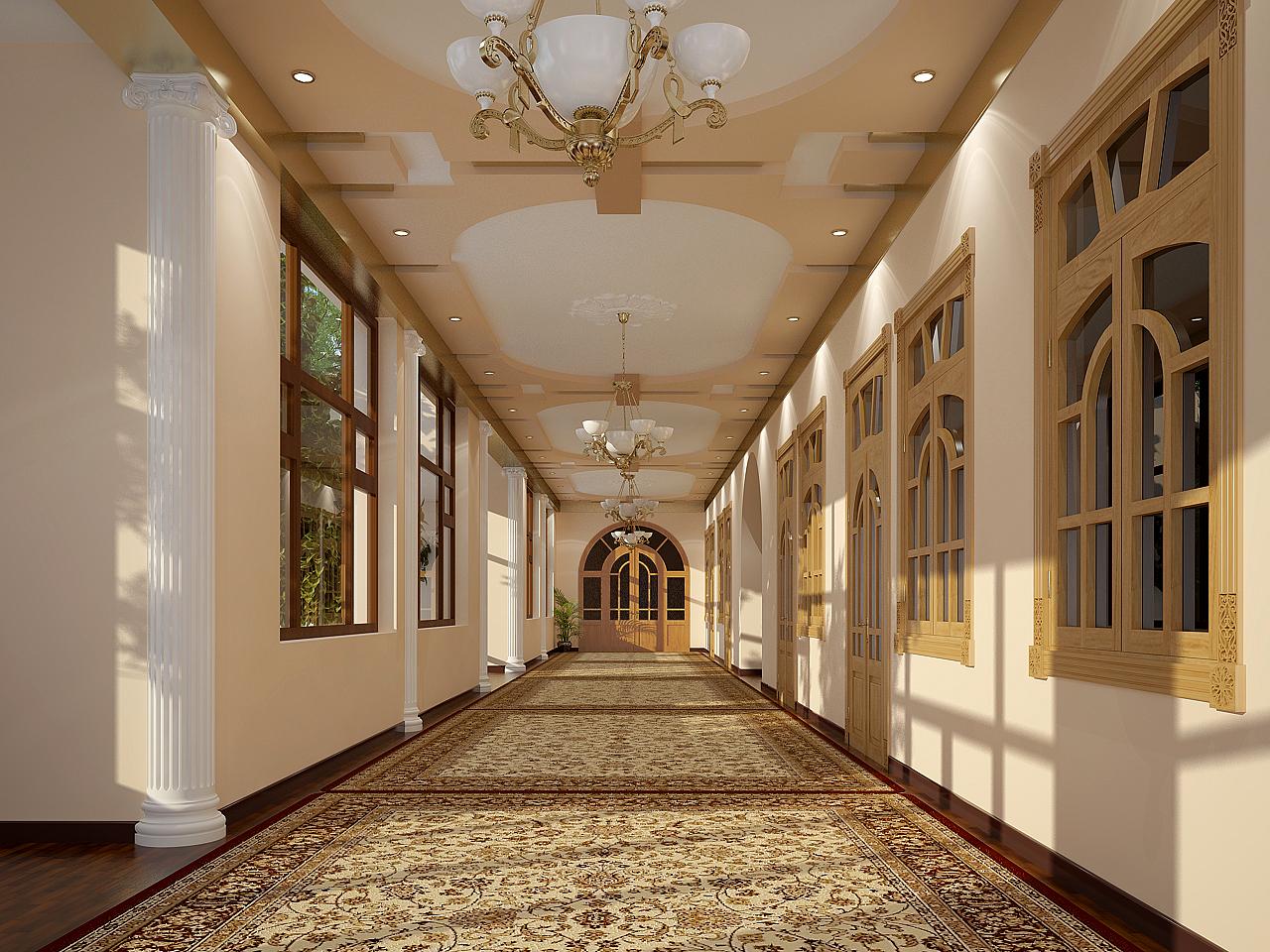 Холл в частном доме фото