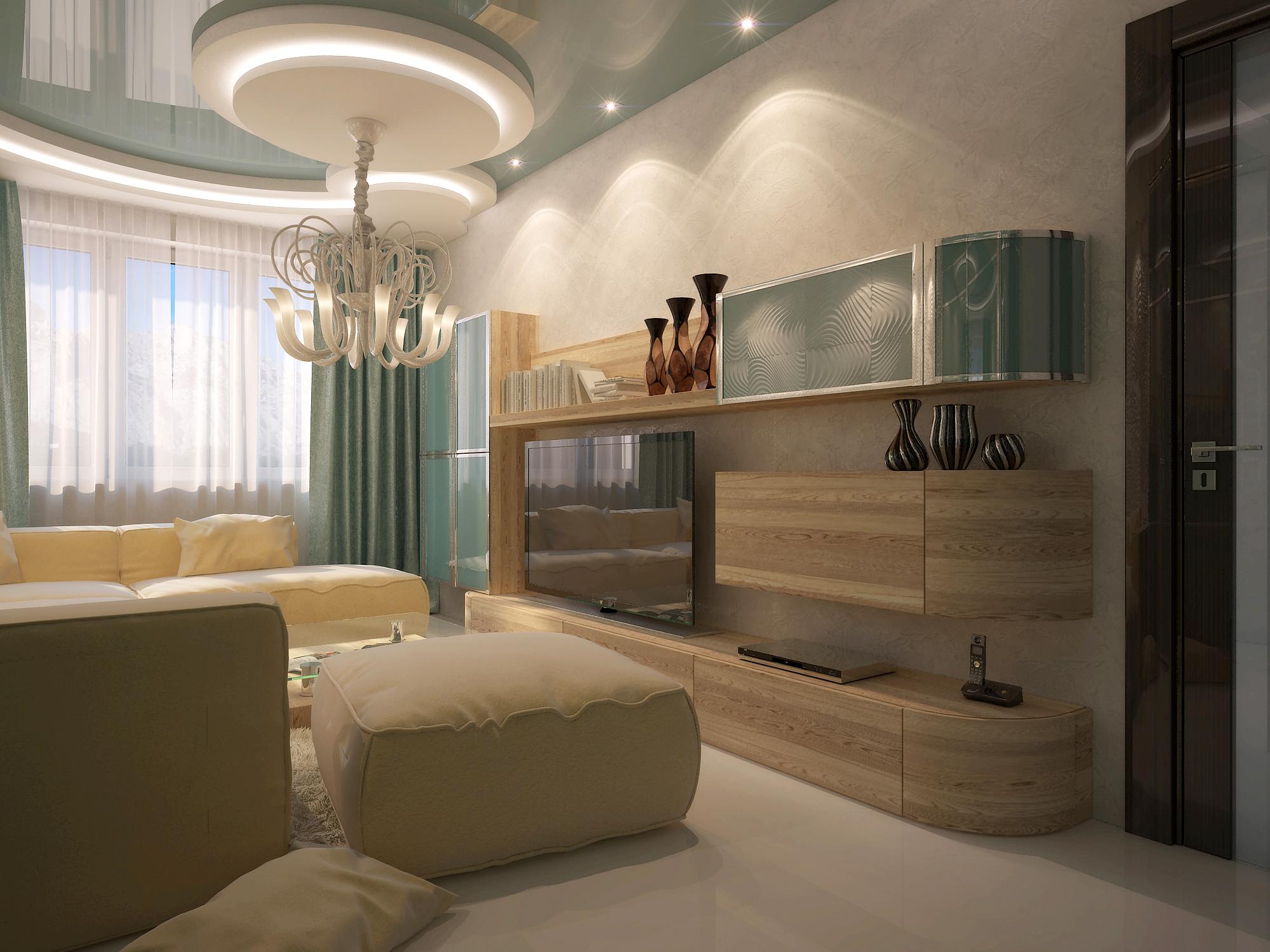 Дизайн небольшой гостиной от владимира палецкого