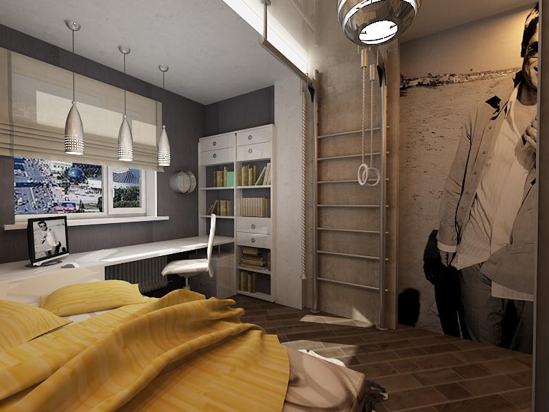 Дизайн комнат для парня фото