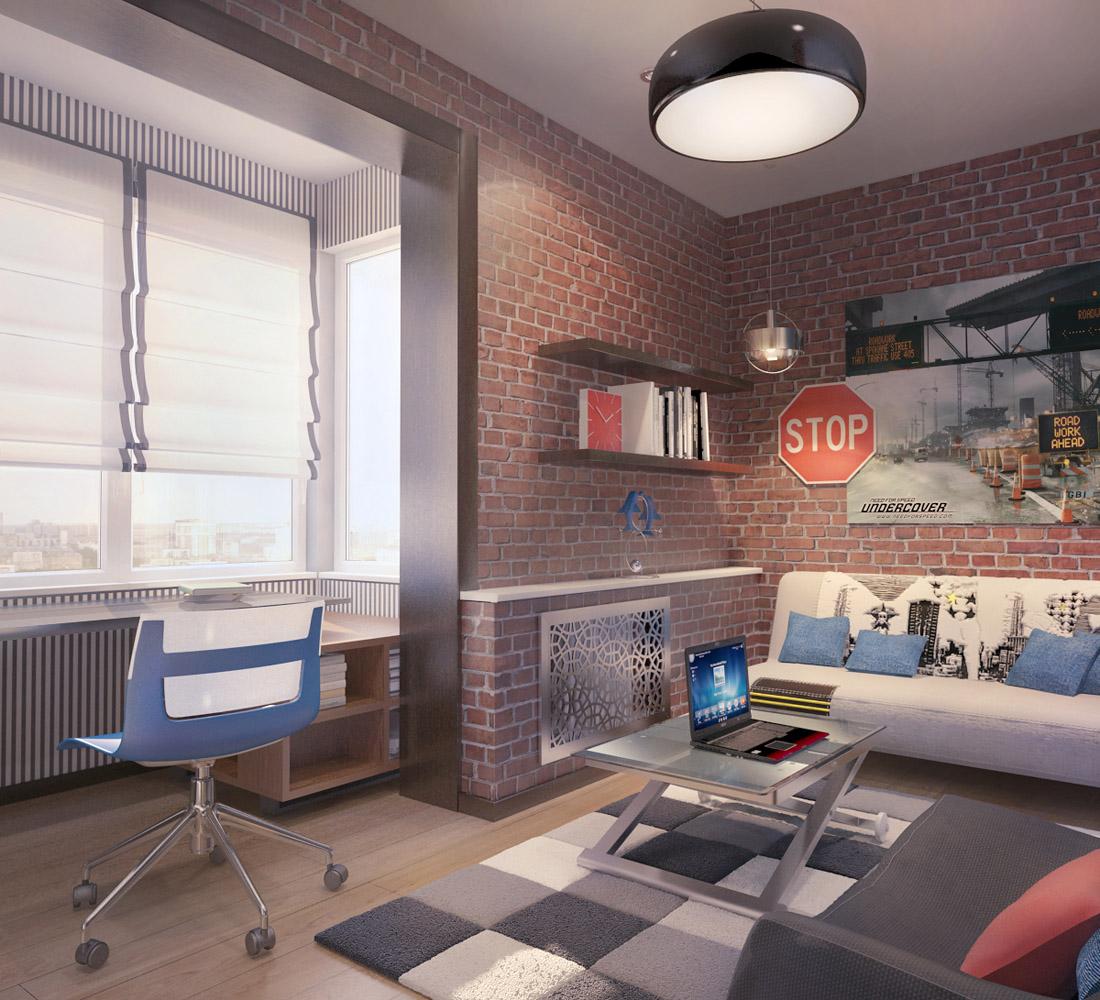 Дизайн спальни подростковой фото