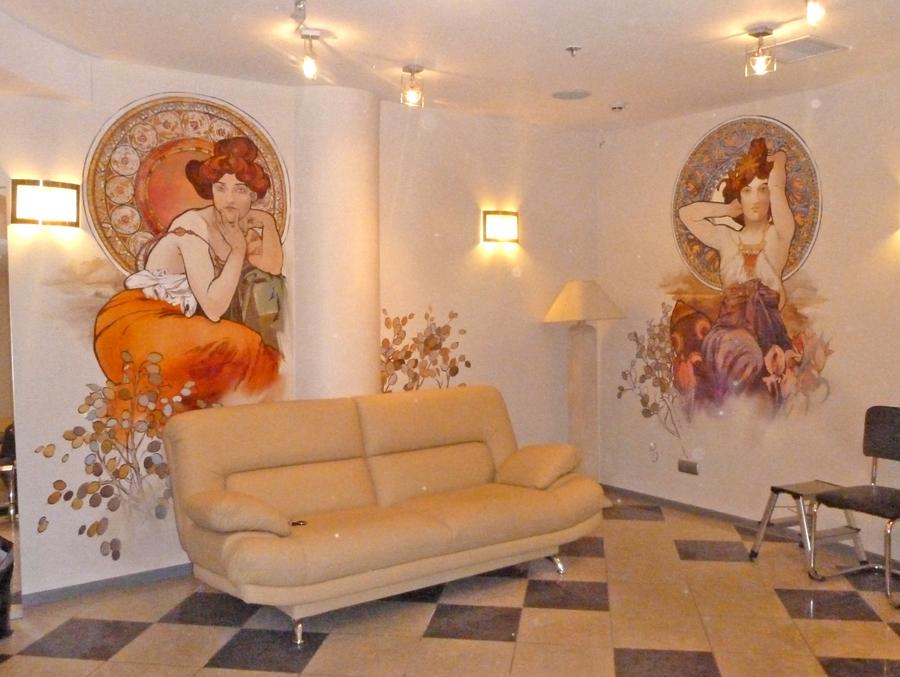 Красоты росписи стен