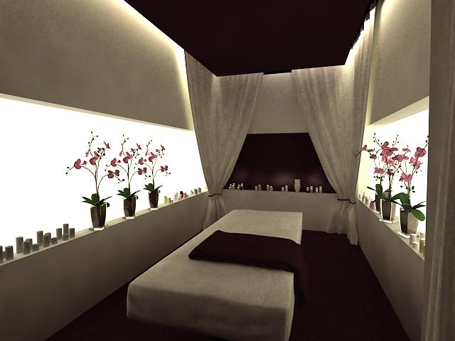 Дизайн массажных салонов