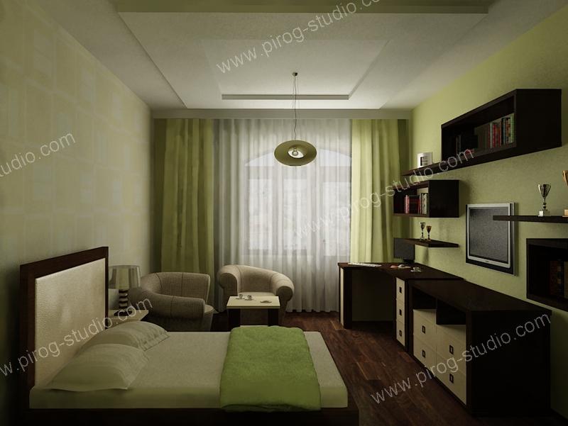 Дизайн комнаты спальни фото