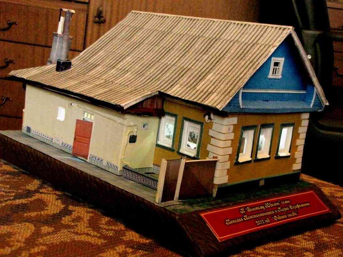 Как сделать крышу для домика