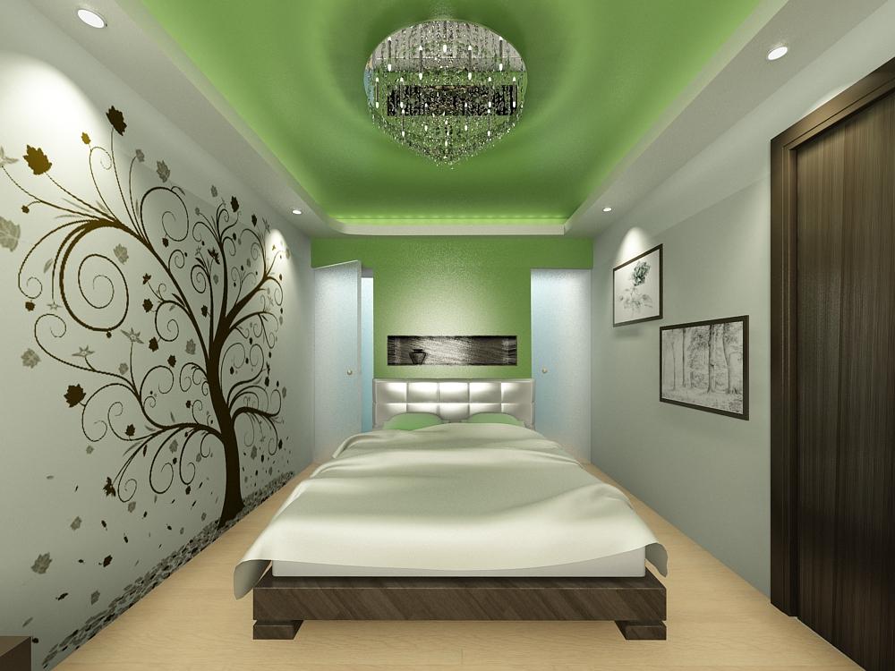 Узкая спальня в хрущевке дизайн