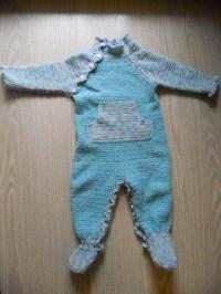 Комментарий: детский комбинезон - Вязание крючком.